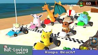 Mariokart 64 meets Pokémon Snap!