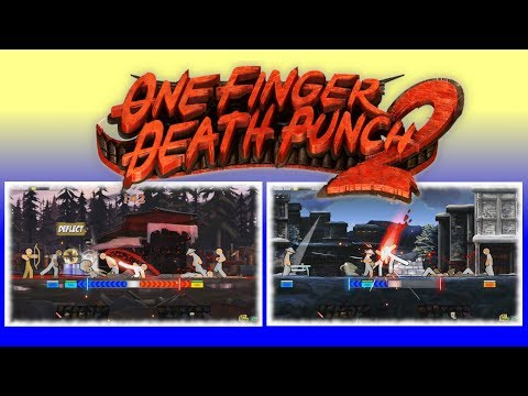 ONE FINGER DEATH PUNCH 2 (Review) : Still The Best Cure For A Bad Mood