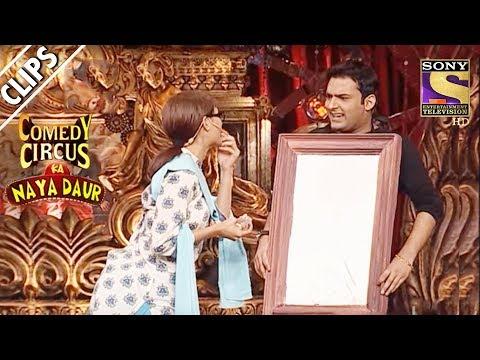 Shwetas Encounter With Kapil, A Dressing Table  Comedy Circus Ka Naya Daur