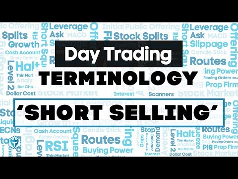 Short Selling Definition : Trading Terminology