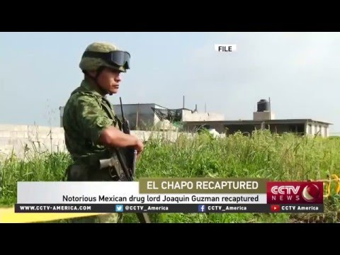 BORDERPOL - Peter S. Vincent discusses capture of El Chapo