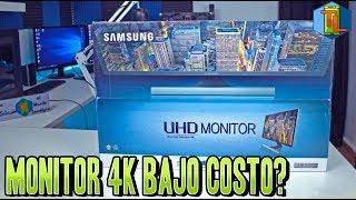 Review de Monitor 4k Samsung 28