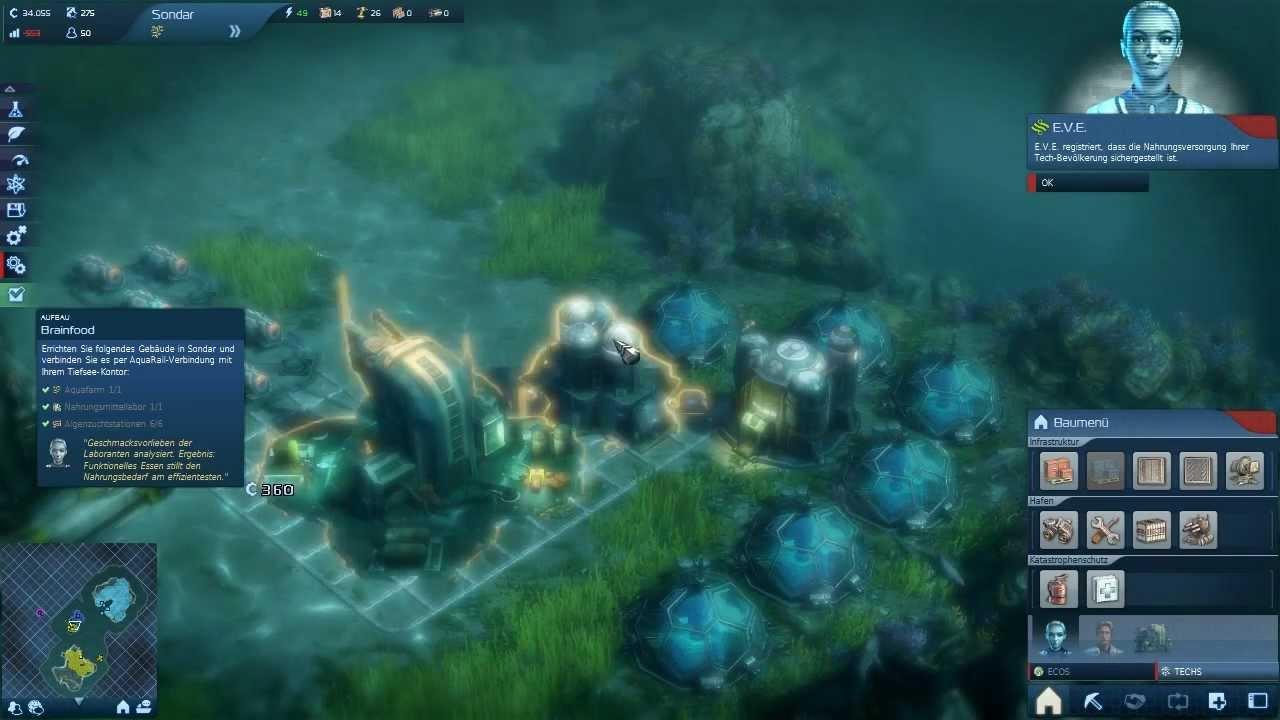 Lp anno 2070 009 erste unterwasserbauten youtube for Anno 2070 find architect