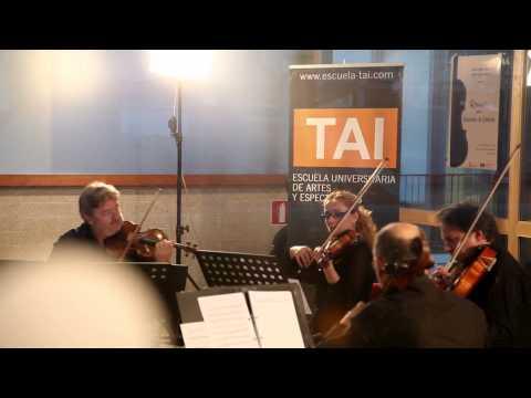 Concierto Cuarteto de Cuerda del Grado de Música TAI