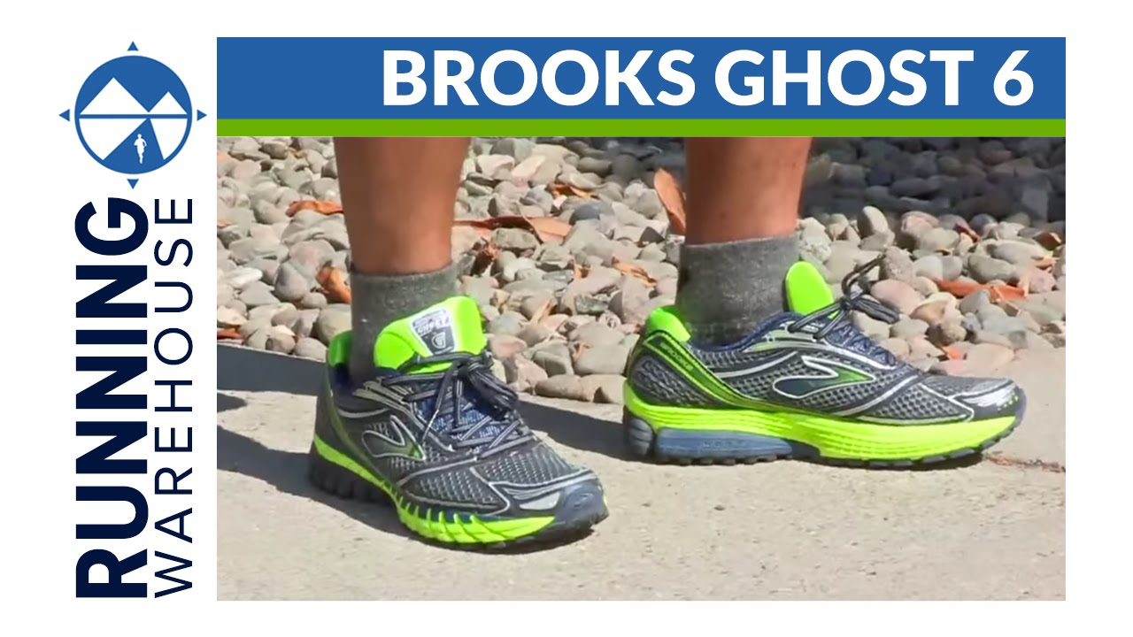 Brooks Ghost 6 Shoe Review - YouTube