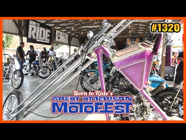 Born To Ride TV - Sturgis   Motofest   Cherokee Blue Ridge