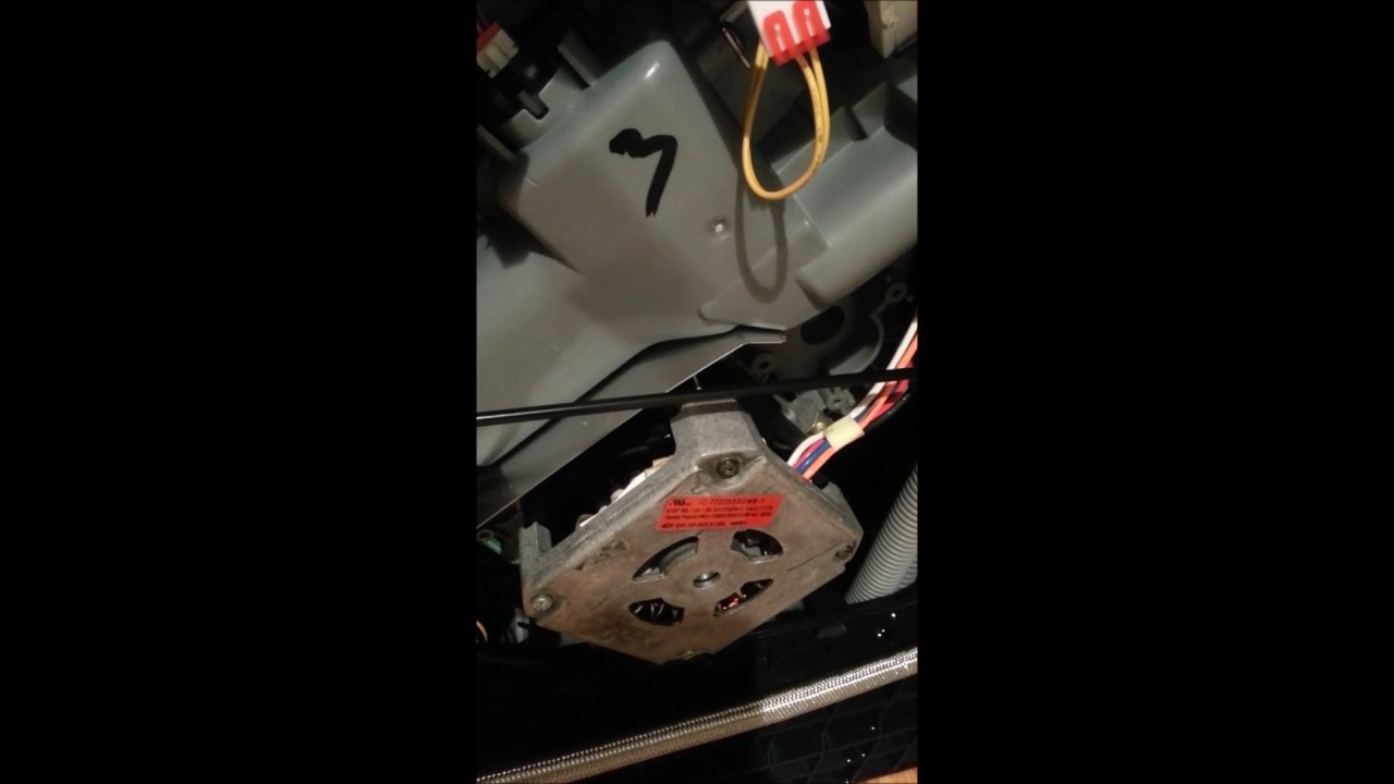 Samsung Dishwasher Heavy Blinking / Flashing Light Error   YouTube