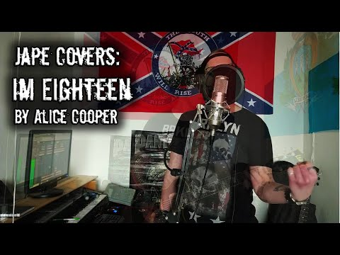 Alice Cooper - I'm Eighteen (Cover By Jape)
