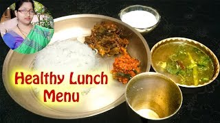 Simple Lunch routine | 30 minute Indian lunch menu | Healthy lunch recipes | Indian Lunch routine