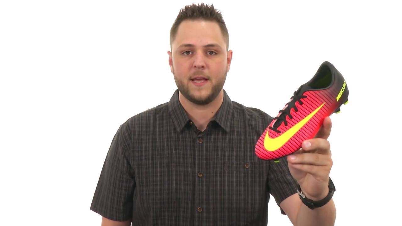 fe05e448dfe Nike Kids JR Mercurial Vapor XI FG Soccer (Toddler Little Kid Big Kid) SKU 8674493  - YouTube