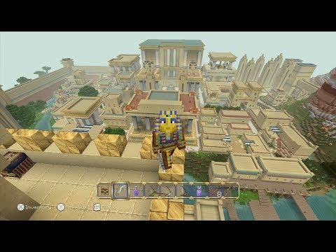 Minecraft Egyptian Mythology Mash-Up Pack: 12 Disc Locations