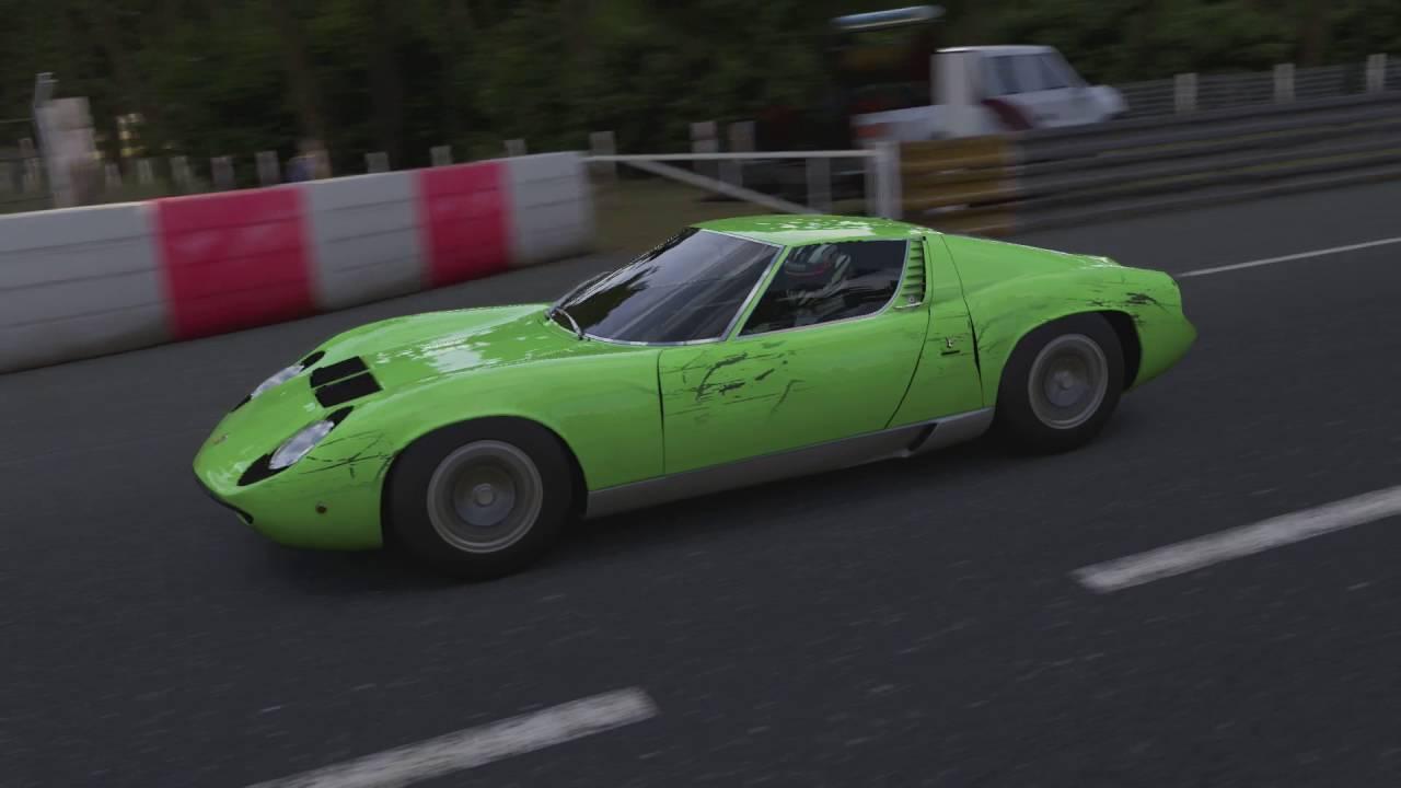 Xbox One Forza 6 Lamborghini Miura A699 1967 Le Mans Old Mulsanne
