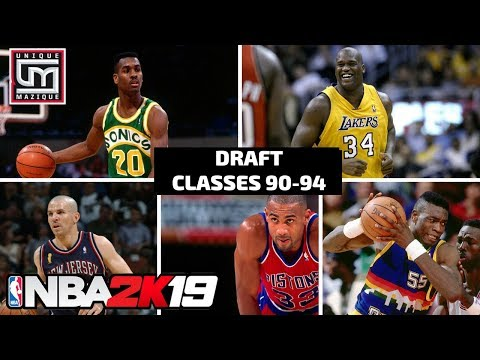 NBA 2K19 | MyLeague | Historic Draft Classes Preview (1990