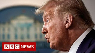 Donald Trump 'paid $750 in federal income taxes' - BBC News