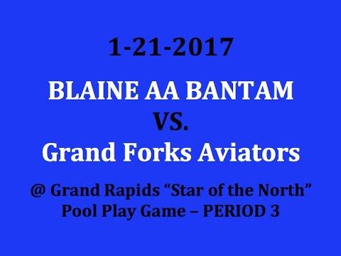 1-21-2017 vs. Grand Forks Aviators (Pool Play) Period 3
