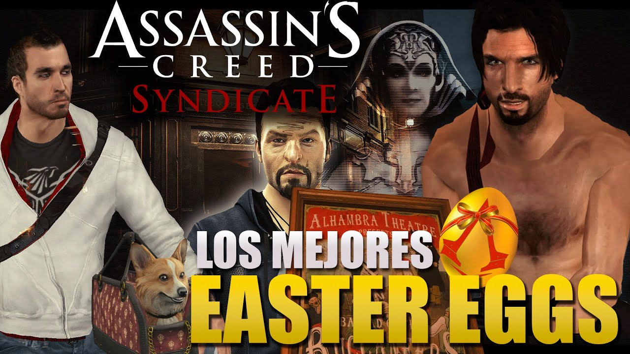 Assassin's Creed Syndicate   Los mejores EASTER EGGS   Los 20 ...