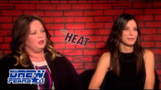 "Sandra Bullock and Melissa McCarthy Exclusive ""The Heat"""