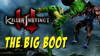 THE BIG BOOT - WEEK OF! Rash Online Matches Pt. 4 - Killer Instinct S3 Beta