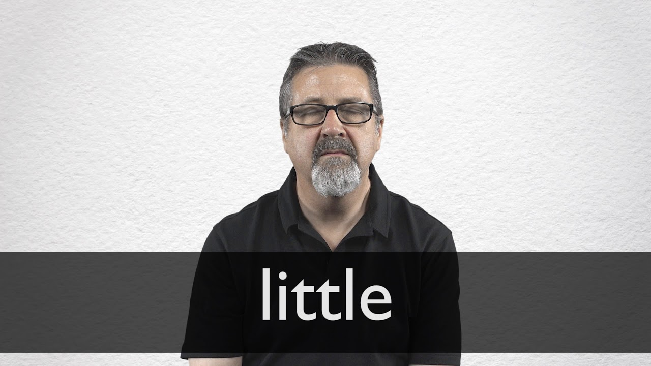 How to pronounce LITTLE in British English