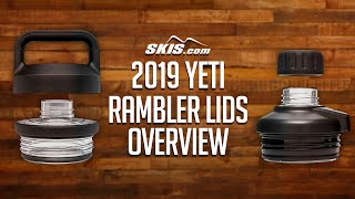 2019 Yeti Rambler Lids Lineup Overview