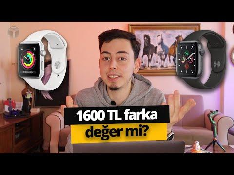 Apple Watch Series 3 vs Series 5! 1.600 TL farka değer mi?