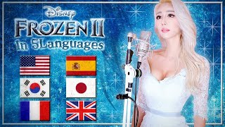 Download lagu Frozen 2 - Into the Unknown (in 5 Languages) by Idina Menzel, AURORA (Cover by Melodi Park)