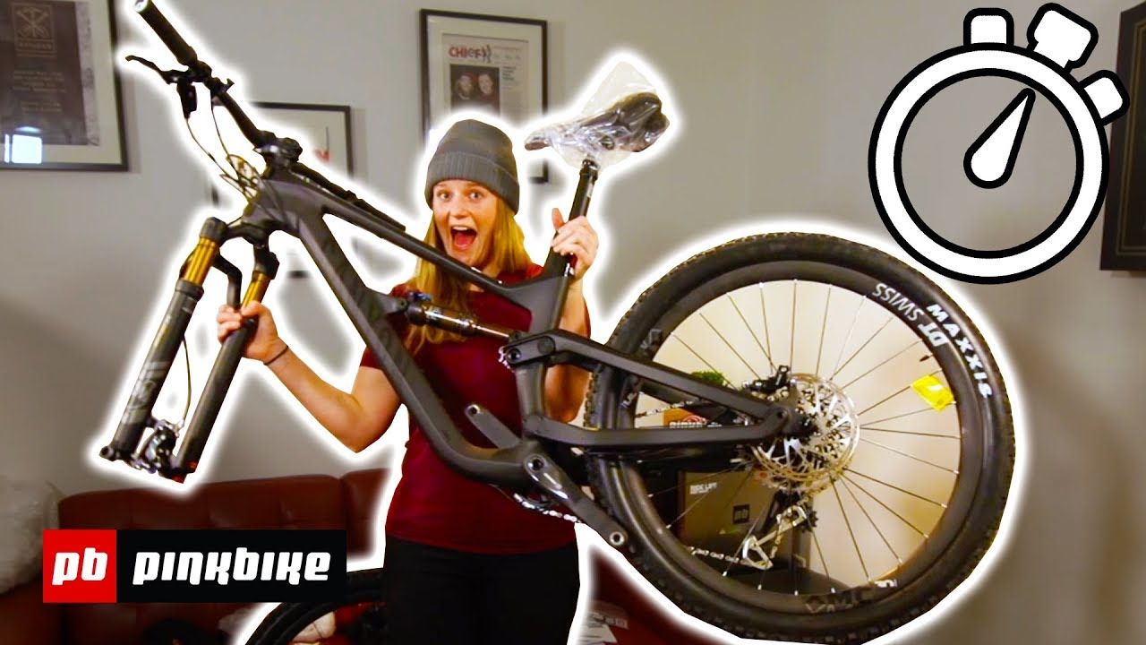 How Hard is it to Build a Canyon Mountain Bike?