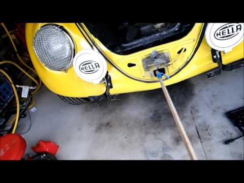 Shifter repair using EV4U Custom Conversions parts and special tool 1966 Bug