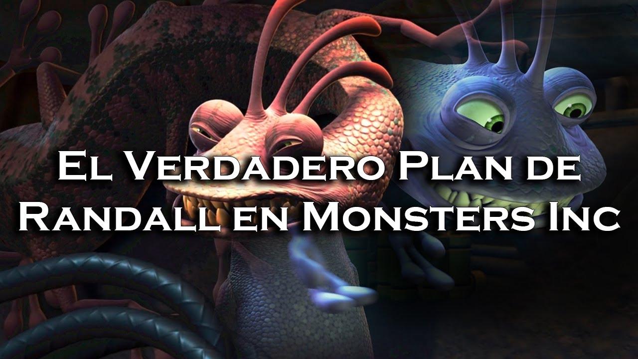   El Verdadero Plan de Randall y La Conspiración en Monsters Inc   Teoría  
