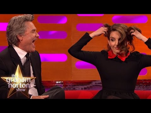 Tina Fey & Kurt Russell Do Famous Scene From Star Wars - The Graham Norton Show