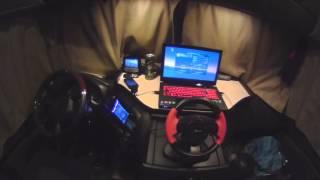 ETS2 Vs. Valódi kamionos. Gameplay a kamionból.