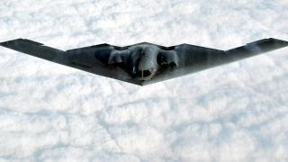 B-2 bomber flies over Pacific ahead of Trump's Asia visit