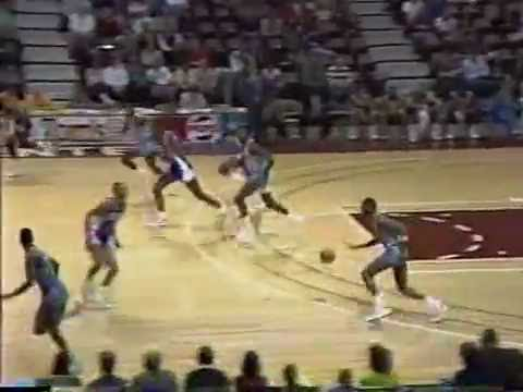 CBA Quad City Thunder vs Rochester Flyers 1988-89