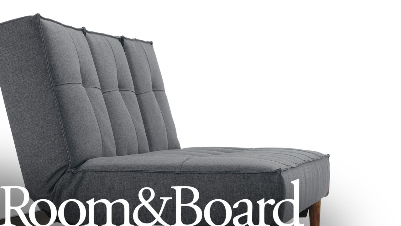 Opening the Eden Convertible Sleeper Sofa