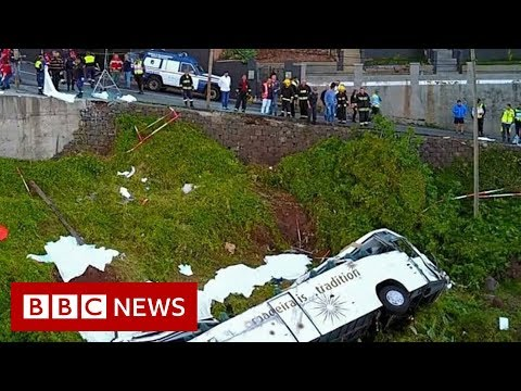 Madeira bus crash: At least 29 killed on tourist bus - BBC News