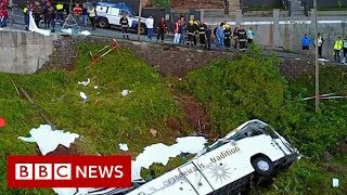 Madeira bus crash: At least 29 killed on tourist bus - BBC News