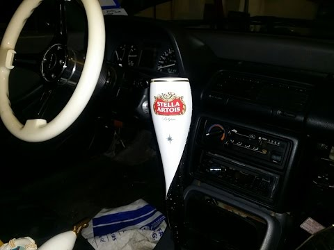 How To Make Beer Tap Shift Knobs For Your Car