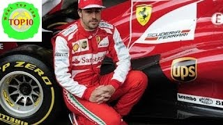 World Top 10 Highest Salaries of Formula 1 Drivers in 2014