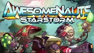 Awesomenauts Starstorm Beta - Sentry X-58 First Look