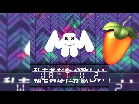 Marshmello - WaNt U 2 (Fl studio remake)