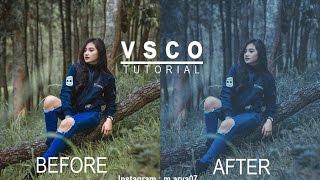 Tutorial Edit VSCO - Efek Seperti Reza Oktovian #2 #Android