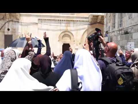 باب الأسباط في المسجد الأقصى