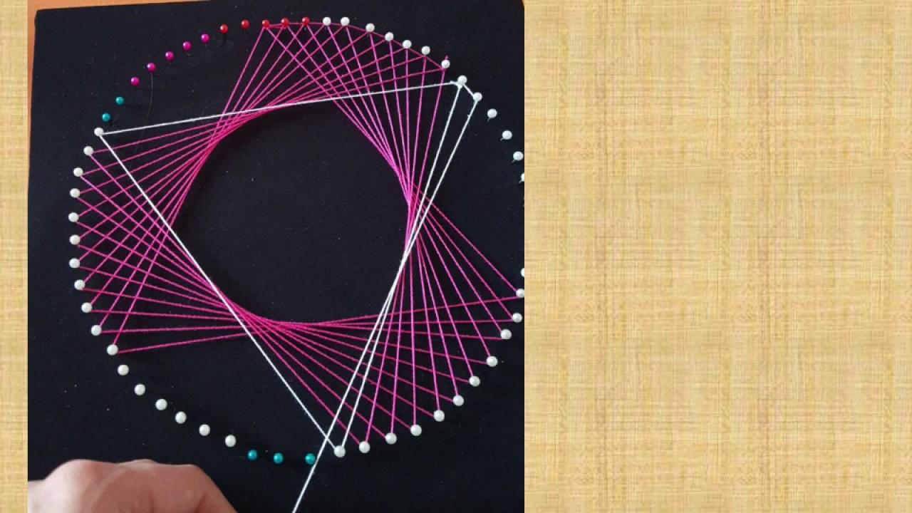 String art tutorial lezione operativa per la costruzione di un string art tutorial lezione operativa per la costruzione di un quadro baditri Image collections