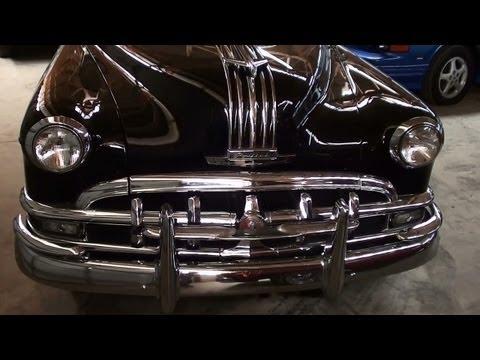 1950 Pontiac Silver Streak 8 Sedan - Flathead Straight Eight Powered Classic Car
