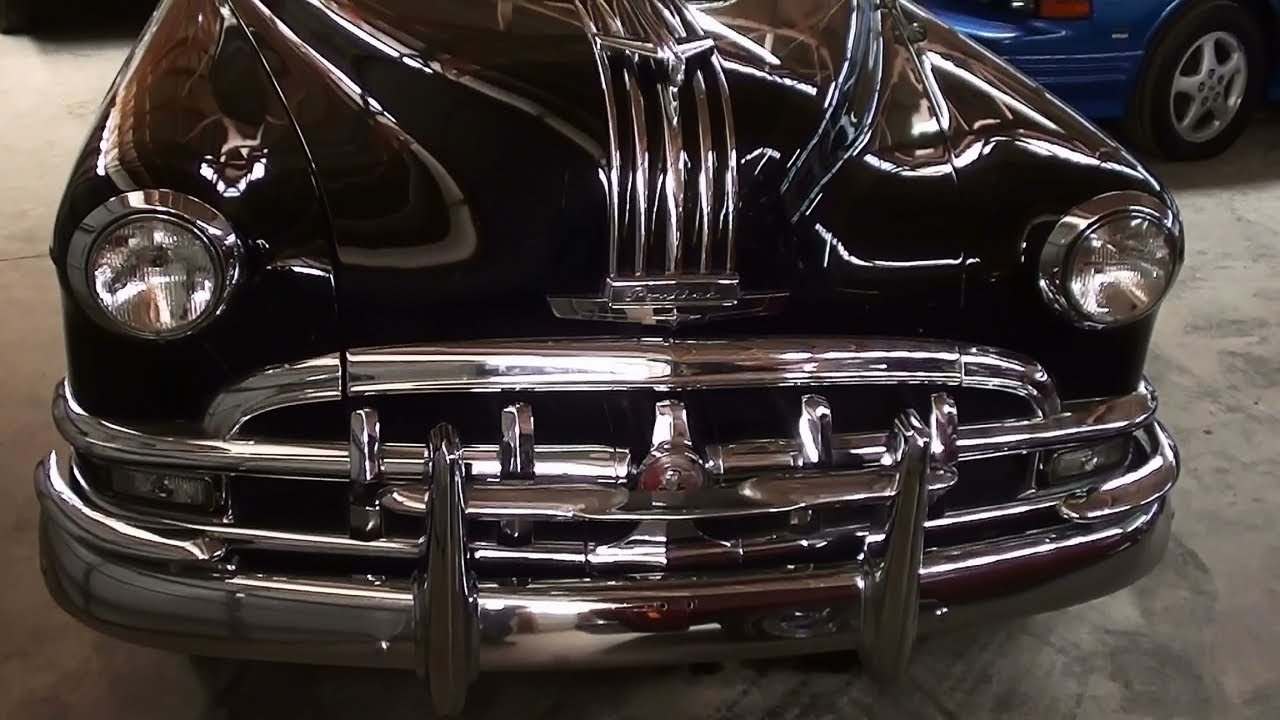 1950 Pontiac Silver Streak 8 Sedan Flathead Straight Eight Powered Star Chief Classic Car Youtube