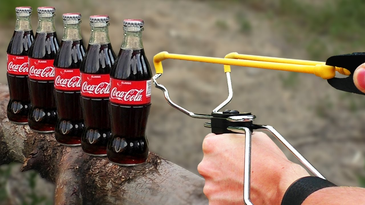 EXPERIMENT Slingshot VS Coca-Cola