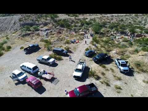 Alamogordo, New Mexico Gold Prospectors Outing November 2017
