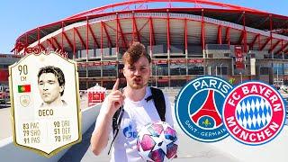 Champions League Finale Vlog aus Lissabon + Challenge vs. Legende 🇵🇹   ViscaBarca