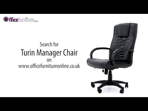 Turin Leather Manager Chair Features from OfficeFurnitureOnline.co.uk