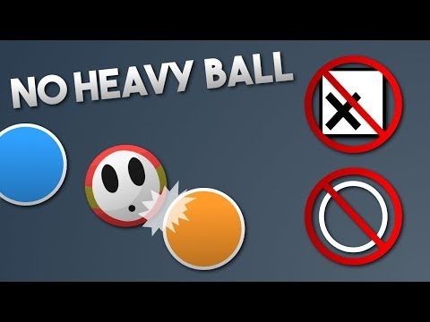 Bonk.io - The No 'X'/Heavy Button Challenge
